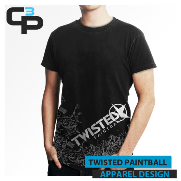 Twisted Paintball Tee