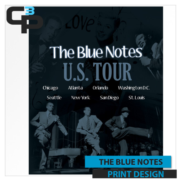 Blue Notes Poster