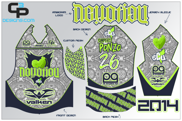 2014 Devotion Jerseys