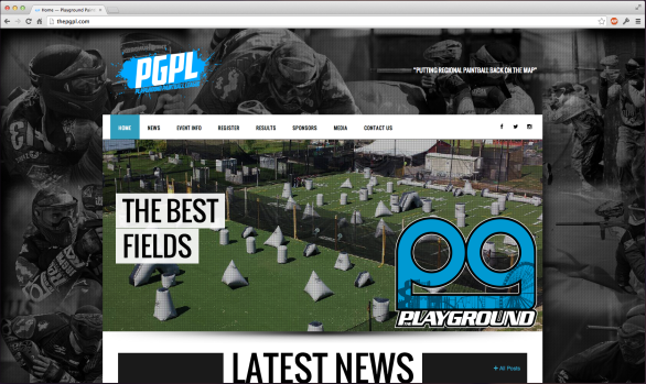 PGPL League Website